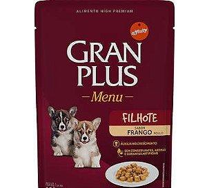 Ração Úmida Affinity GranPlus Sachê Frango para Cães Filhotes 85Gr