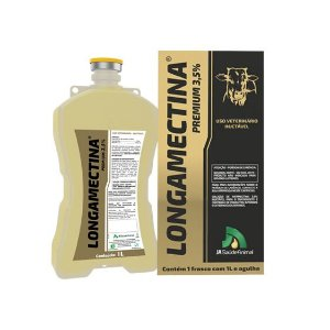 LONGAMECTINA PREMIUM 3,5% 500ML JA SAUDE ANIMAL