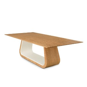 Mesa jantar Marin tampo madeira 2,40
