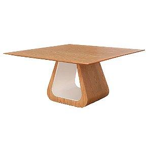 Mesa de jantar Marin PLUS Tampo em madeira 1,60