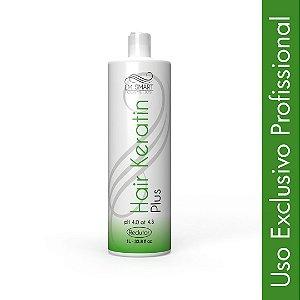 Escova Progressiva Profissional Hair Keratin Plus Alisante 1000ml