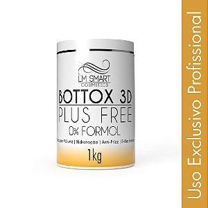 Botox Capilar sem Formol Profissional Bottox 3D Plus Free 1Kg