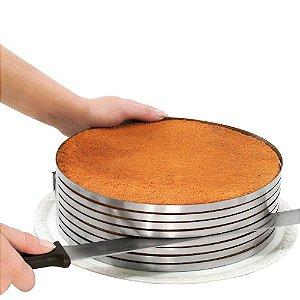 Fatiador de Bolos Expansível em Aço Inox