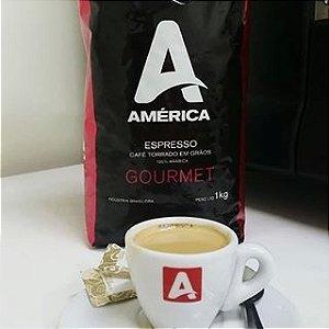Café em Grãos América Gourmet 1kg