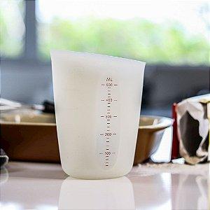 Copo de Medidas Silicone Flexível 500 ml