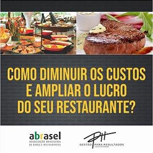Curso Online - Como diminuir os custos e ampliar o lucro do seu restaurante