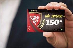 Cartão de Presente R$150,00