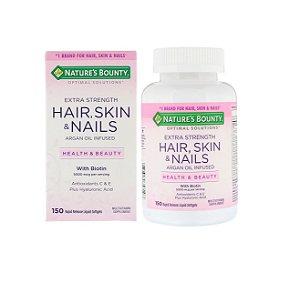 Hair Skin Nails Multivitamínico Com Biotina 150 Cápsulas Cabelo Pele E Unha