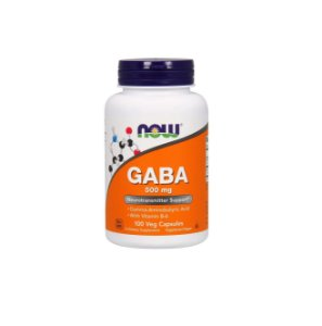 Gaba 500 Mg 100 Capsulas Now