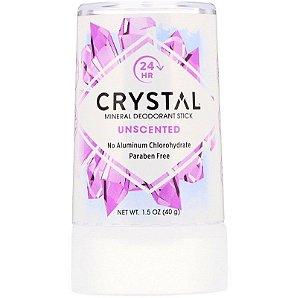 Desodorante Em Pedra Crystal Totalmente Natural Livre de Ftalatos e Parabenos 40g