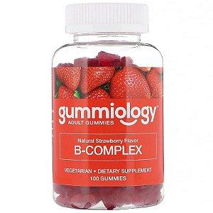 Complexo B Em Gomas Gummiology 100 Gomas Importado EUA