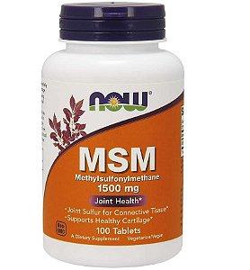 MSM Enxofre Orgânico 1500mg Metilsulfonilmetan Importado Eua