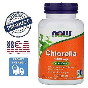 Chlorella Orgânica 1000mg Importada Eua Nos Foods