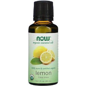 Óleo Essencial Limão Orgânico Importado EUA 30ML 100% Puro