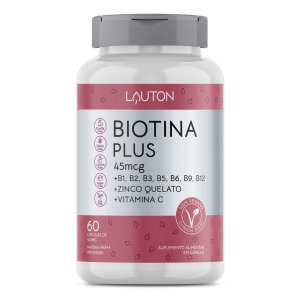Biotina Firmeza Crescimento Saúde Cabelos Unhas Pele