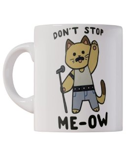 Caneca Don't Stop Me-ow