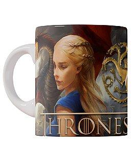 Caneca Game of Thrones Daenerys