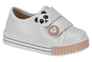 Tênis Molekinha Bebê Panda 2131.407