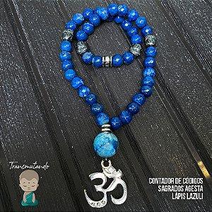 Contador Agesta Lápis Lazuli e Budas