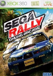 SEGA Rally - MÍDIA DIGITAL XBOX 360