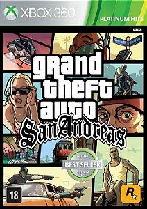 GTA SAN ANDREAS MÍDIA DIGITAL XBOX 360