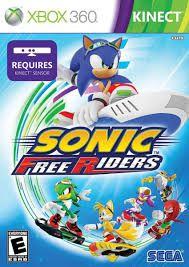 SONIC FREE RIDERS- MÍDIA DIGITAL