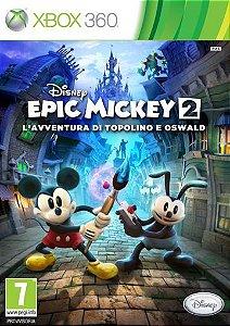 Disney Epic Mickey: Poder em Dobro-MÍDIA DIGITAL