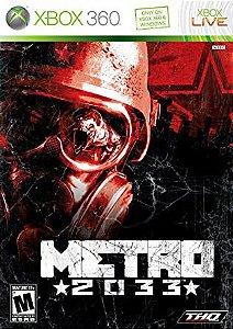 Metro 2033-MÍDIA DIGITAL XBOX 360