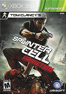Splinter Cell Conviction-MÍDIA DIGITAL XBOX 360