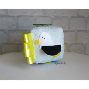Cubo interativo pequeno 6 faces interativas