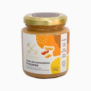 Pasta de Amendoim Crocante Vegana 220g