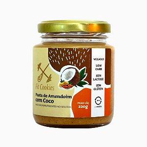 Pasta de Amendoim com Coco Vegano 220g