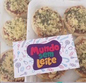 Mini Pizza Vegana - 12 unidades