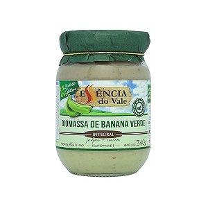 Biomassa de Banana Verde Pronta para Uso - 240g