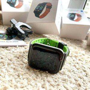 SmartWatch A6 - Cinza e Verde