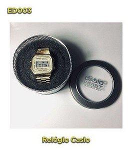 Casio vintage A168 - Dourado