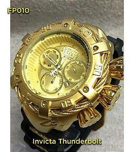 Invicta Thunderbolt 100%  Funcional - Dourado
