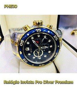Pro Driver P/aço - Azul e Dourado