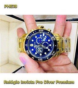 Pro Driver P/aço - Dourado e Azul