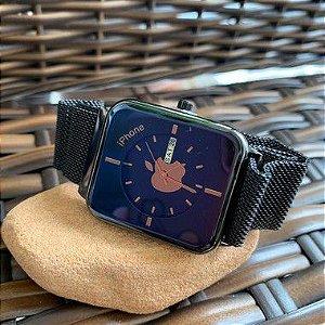 Relógio Iphone - Preto e Azul