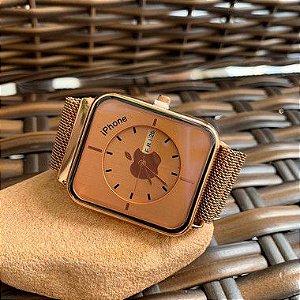 Relógio Iphone - Rose