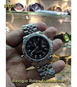 Rolex Daydate - Prata e Preto