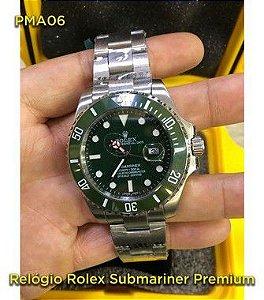 Rolex Submariner - Prata e Verde