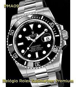 Rolex Submariner - Prata e Preto