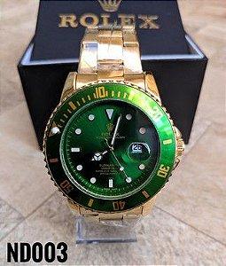 Rolex Submariner - Dourado e Verde
