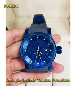 yakuza Automatico Linha Luxo - Azul