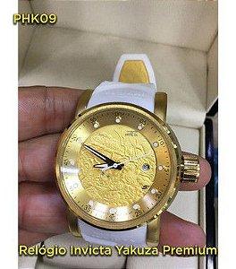 yakuza Automatico Linha Luxo - Branco e Dourado