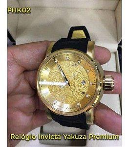 yakuza Automatico Linha Luxo - Preto e Dourado