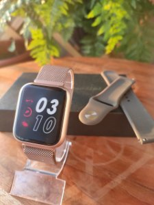 SmartWatch P70 DAFIT  - Bronze claro