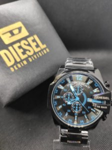 Diesel 10 Bar - Preto com azul